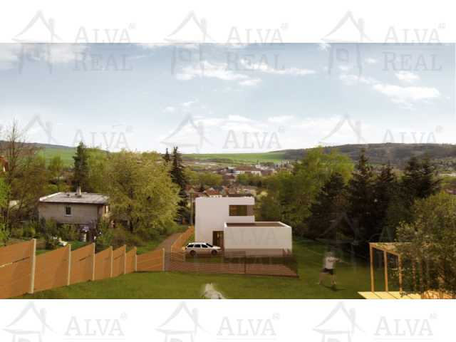 Dům 2. - výhled z terasy